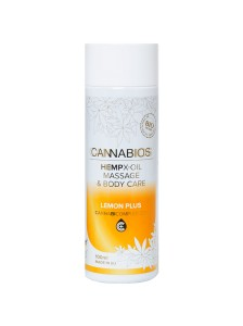 Olejek do masażu Cannabios X-oil LEMON PLUS 100ml